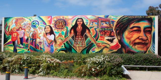 A Chicano mural in San Diego (Jay Galvin/Flickr)