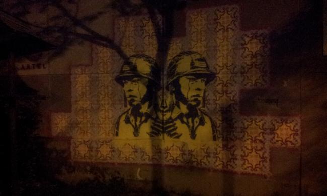 """Nostalgia,\"" a mural in Medellín, Colombia (Deúniti colectivo creativo/ Flickr)"