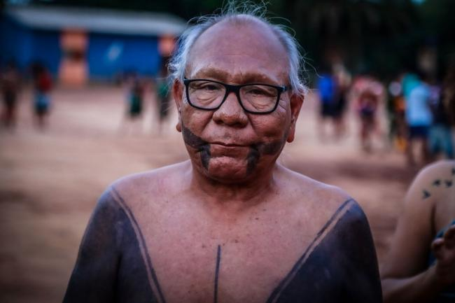 Paulinho Paiakan, a Kayapó leader who died of COVID-19 on June 17 in Pará, Brazil (Photo courtesy of Todd Southgate).