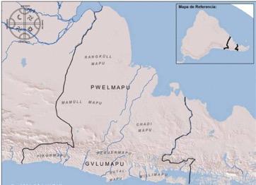 Mapa elaborada por el autor