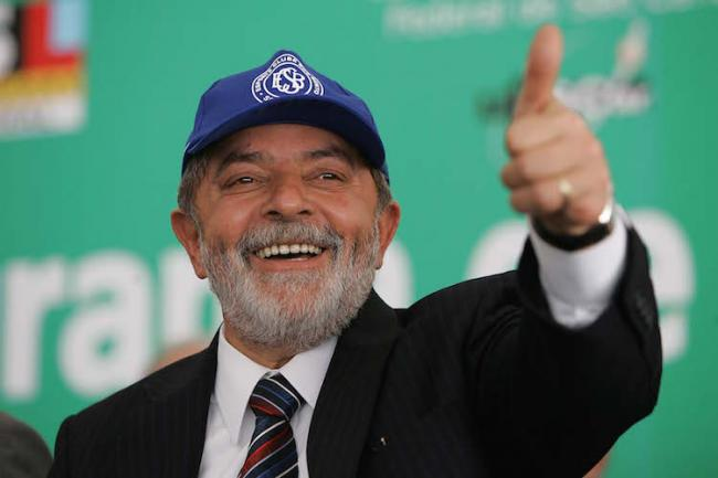 Luiz Inácio Lula da Silva served as president of Brazil from 2003 to 2011. ( Ricardo Stuckert / Wikimedia Commons)