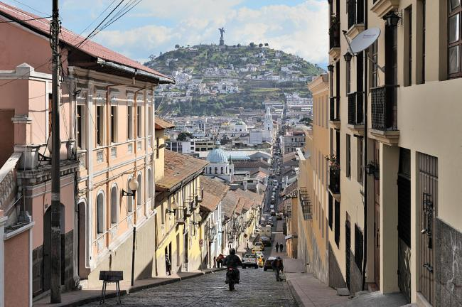 Quito, Ecuador (Photo by Cayambe/Wikimedia)