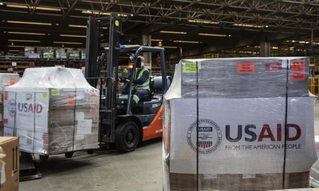 The U.S. government, through the U.S. Agency for International Development (USAID), donated, on July 29, a second shipment of 200 ventilators to Brazil to assist its fight against Covid-19 (Photo: U.S. Embassy).