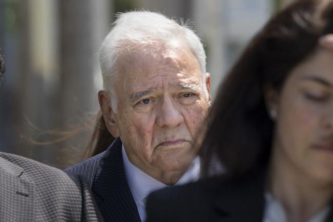"Bolivia's former President Gonzalo ""Goni"" Sánchez de Lozada at his recent trial in Fort Lauderdale, Florida. (Noah Friedman-Rudovsky)"