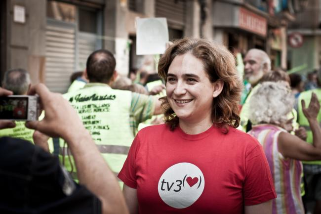 Ada Colau, Mayor of Barcelona and anti-eviction activist (Wikimedia Commons)
