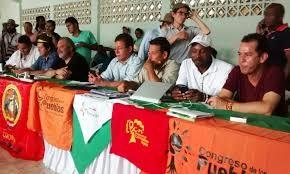 Negotiations over land, territory, peace in Quinamayo, Cauca (Photo by Cumbre Agraria)