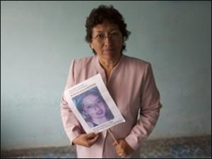 Adela Alvarado Valdes' daughter Monica disappeared eleven years ago (Photo by CIP Americas)