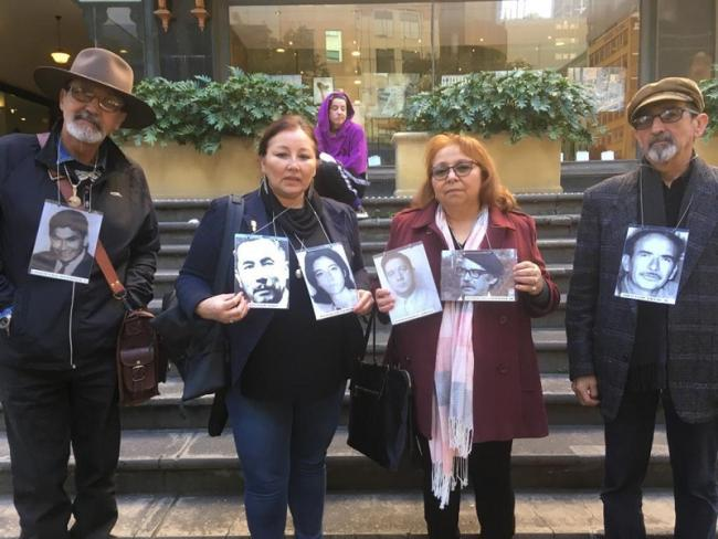 Chileans in Australia advocate for justice for people disappeared and killed during the Pinochet dictatorship (Photo courtesy of Rodrigo Acuña).
