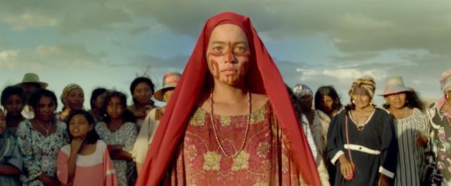 Zaida during her chichamaya ritual (U.S. Trailer/ IMDB).