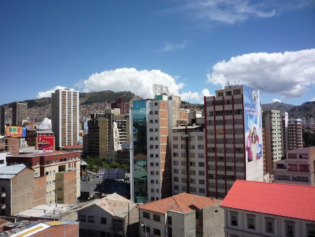 La Paz, Bolivia. (Cristian Ruz, Flickr)