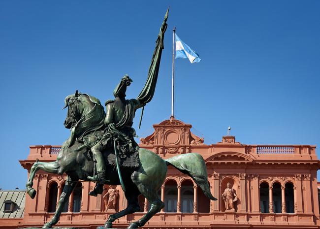 The Casa Rosada in Buenos Aires (Flickr)