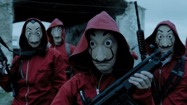 The Casa de Papel series on Netflix has attracted record numbers of viewers for a Spanish-language program (Netflix)