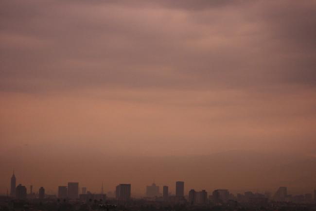 Mexico City skyline (Júbilo Haku, Flickr)