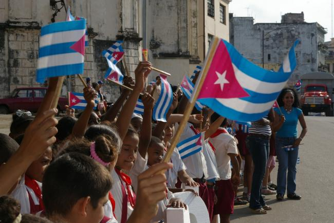 Cuban Children celebrate Cuban Independence Day in Havana (Flickr/ Thomassin Mickaël)