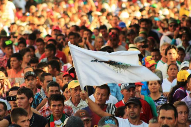 The 2014 Cumbre Agraria Forum on Campesino Reserve Zones, in Tibú, Santander, Colombia (Flickr/ Agencia Prensa Rural)