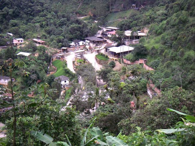 A goldmine in Zaruma, Ecuador. (Rinaldo Wurglitsch)