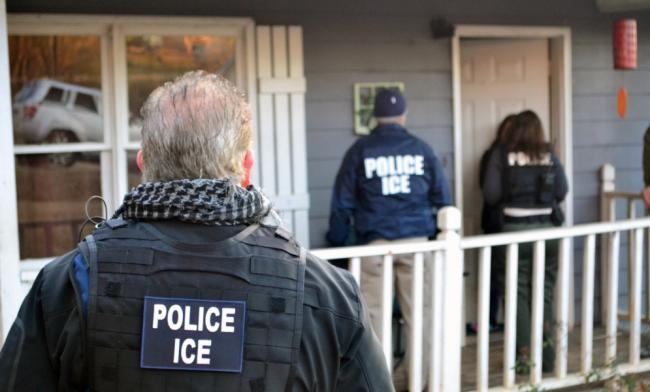 Immigrations and Customs Enforcement (ICE) has taken on a greater share of immigration-related arrests over the past week. (Department of Homeland Security)