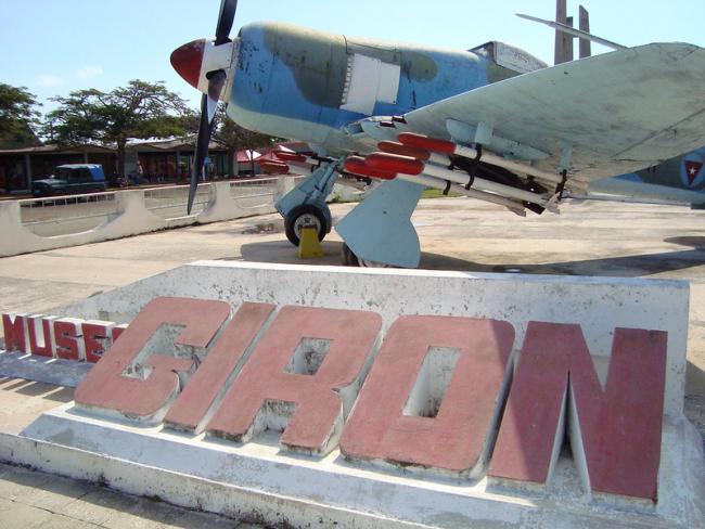 A plane at the Playa Girón (Bay of Pigs) Museum in Cuba (Adam Jones)
