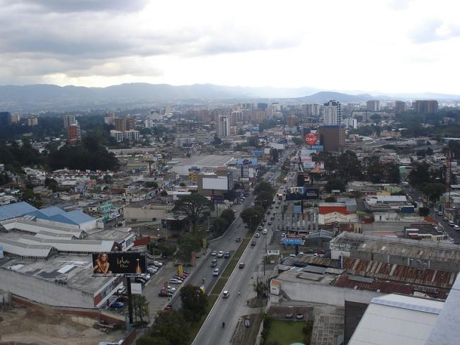 A view of Guatemala City, where the Federico Mora hospital is the only public mental health institution (Fernando Reyes Palencia/Flickr).