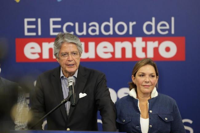 Ecuadorian president-elect Guillermo Lasso of the Movimiento CREO party. (Guillermo Lasso Twitter)