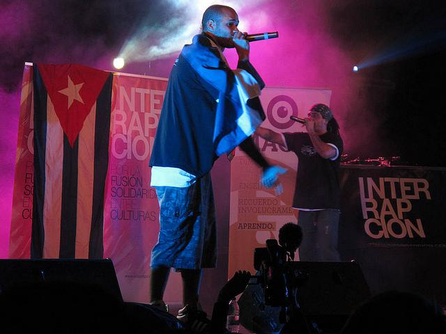 Cuban Hip Hop group Los Aldeanos (Creative Commons/ Oriana Eliçabe)