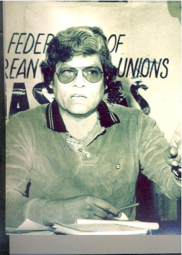 Alejandro Molina Lara as a young man. (Courtesy of Jeff Gould via Alejandro Molina Lara)