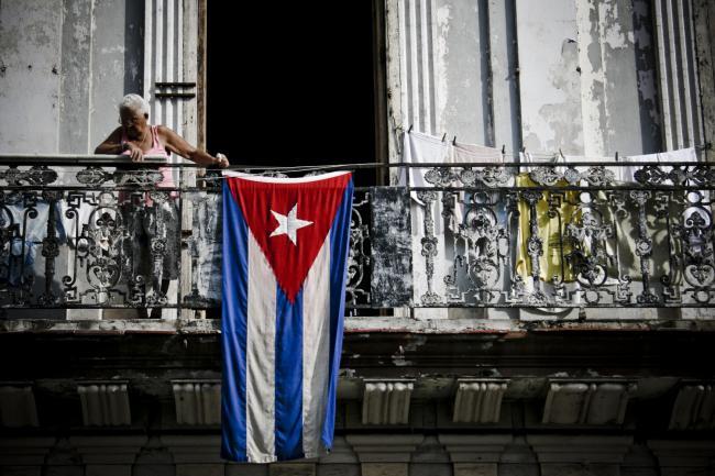 A balcony in Old Havana (Ramon Rosati/Flickr).