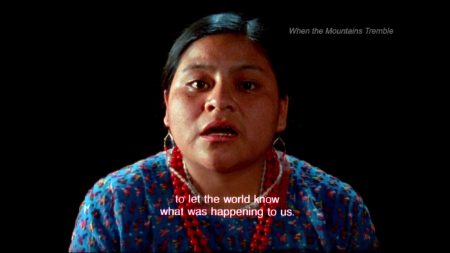 essays on rigoberta menchu