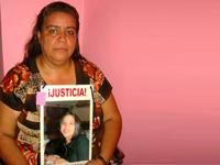 Norma Andrade's daughter was killed 14 years ago. (Photo by CIP Americas)