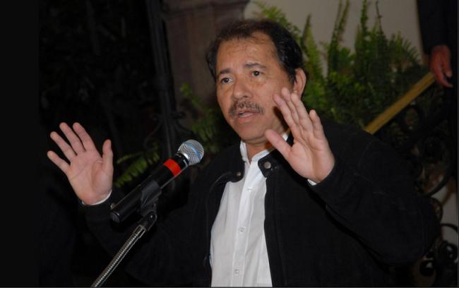Nicaraguan President Daniel Ortega in 2010. (Flickr/Fotos da Occidente Produções)
