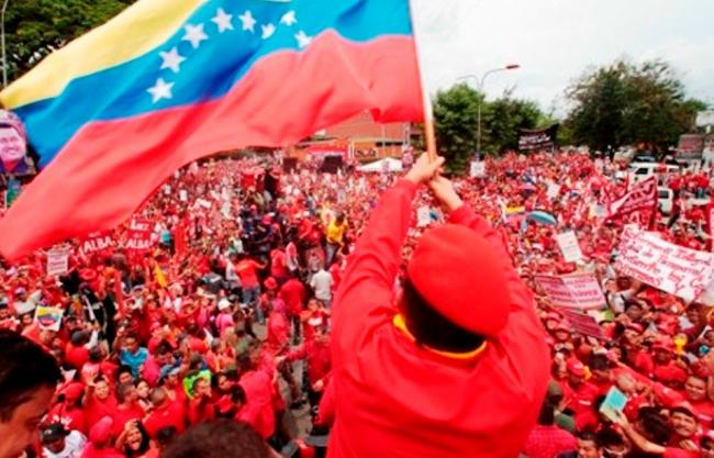 A PSUV rally in 2012 (Photo by Democracia Socialista)