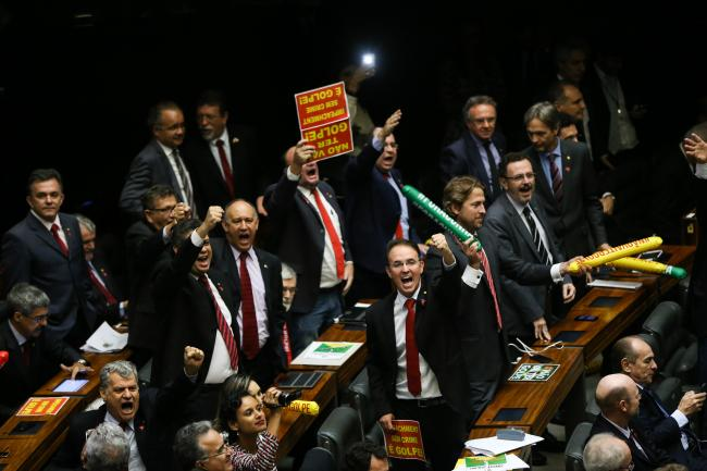 Brazilian parliament votes to open impeachment proceedings of Dilma Rousseff on April 17 (Marcelo Camargo/Agência Brasil)
