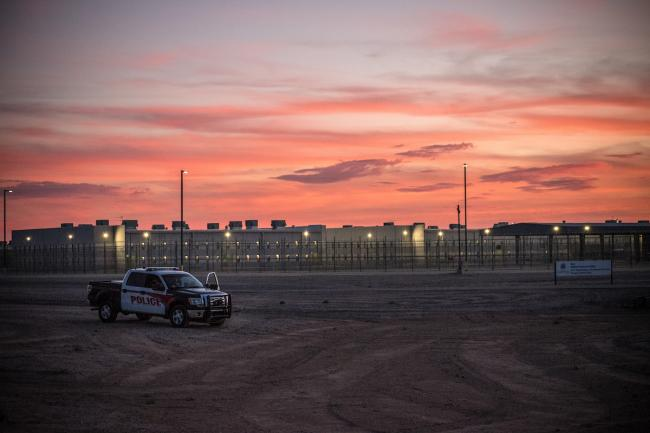 The Eloy Detention Center in Arizona (Photo by Steve Pavey/Hope in Focus photography)