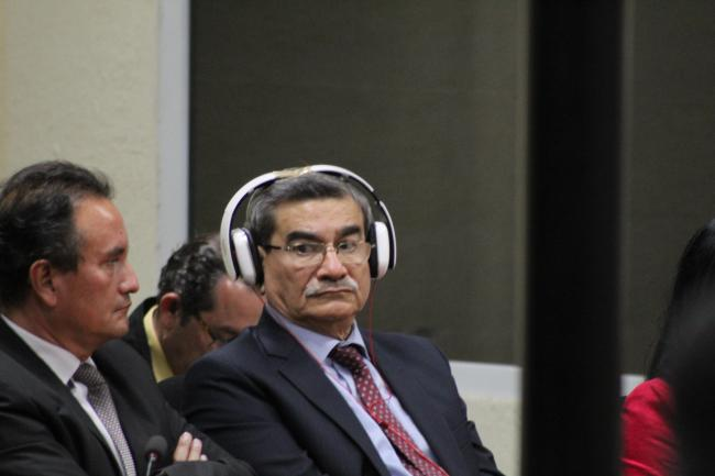 Rodríguez Sánchez in the courtroom (@VerdadJusticiaG)