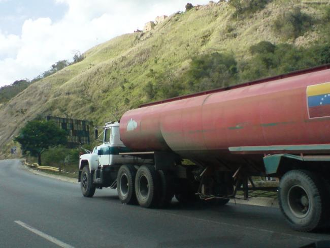 Petroleum shortages have long plauged Venezuela, but now a lack of diesel threaten to paralyze the country. (Carlos Guevara)